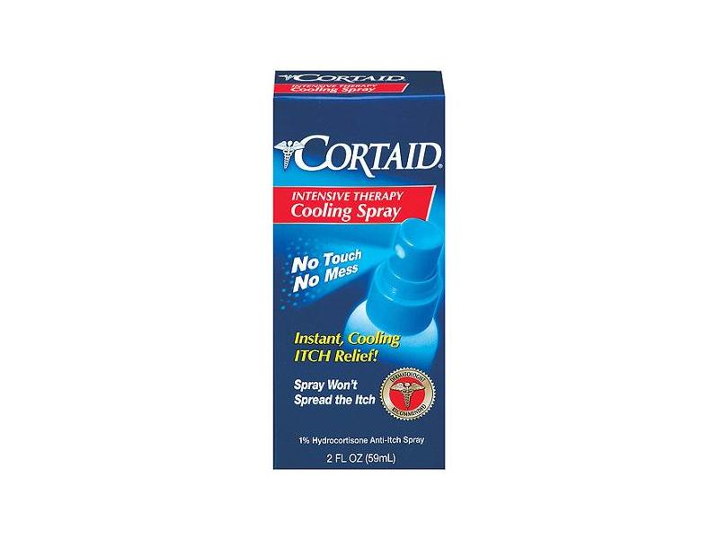 Cortaid Intensive Therapy Cooling Spray, Valeant