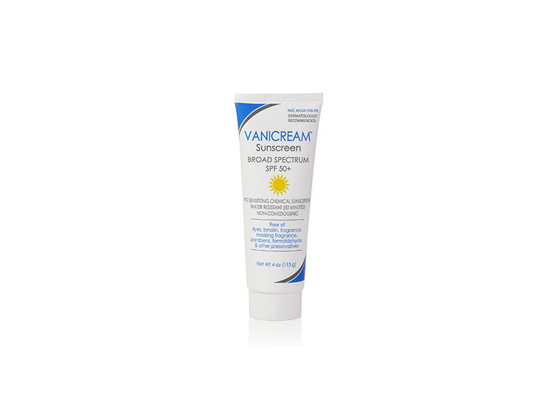 Vanicream Sunscreen Broad Spectrum SPF 50+, 4 oz
