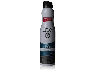 Curel Itch Defense Instant Soothing Moisturizing Spray, 6 Oz (Pack of 2)