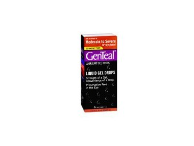 GenTeal Lubricant Gel Drops Moderate To Severe Dry Eye - 25ML (Pack of 2) - Image 1
