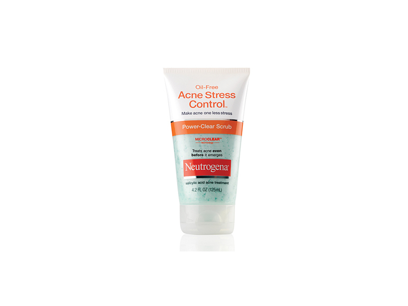 Neutrogena Oil-free Acne Stress Control Power Clear Scrub, Johnson & Johnson