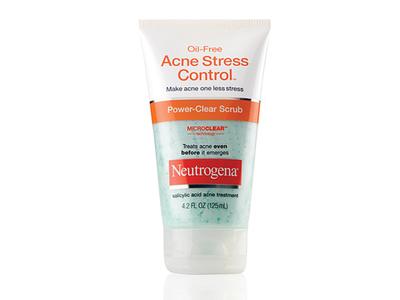 Neutrogena Oil-free Acne Stress Control Power Clear Scrub, Johnson & Johnson - Image 1