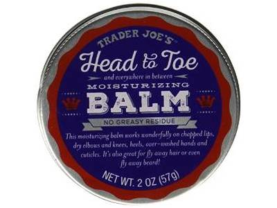 Trader Joe's Head to Toe Moisturizing Balm and Beard Balm, 2.0 oz