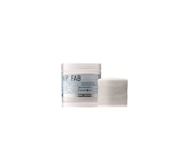 Nip+Fab Glycolic Fix Exfoliating Facial Pads - 60 Count