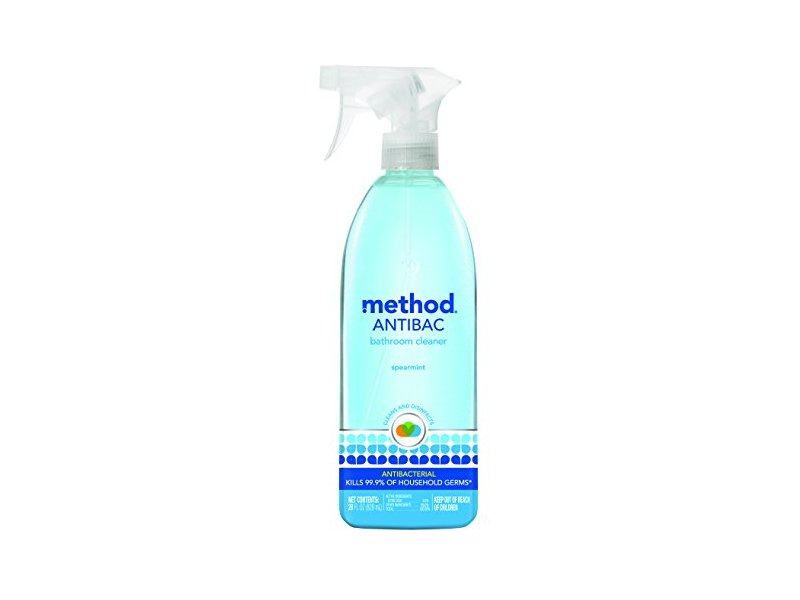 Method Antibacterial Bathroom Cleaner Spearmint Fl Oz - Method bathroom cleaner ingredients