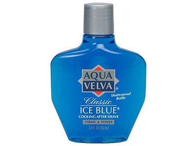Aqua Velva After Shave, Classic Ice Blue, 3.5 Ounce - Image 1