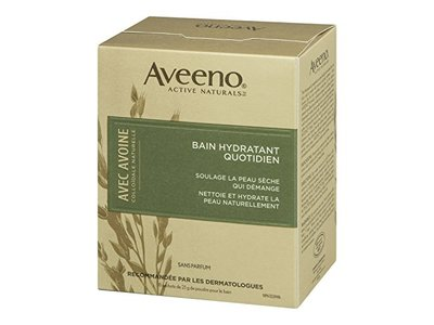 Aveeno Daily Moisturizing Bath with Natural Colloidal Oatmeal, Fragrance Free 8 bath packets 6 oz - Image 5