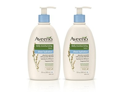 Aveeno Active Naturals Daily Moisturizing Sheer Hydration Lotion, 12 fl. oz. - Image 1