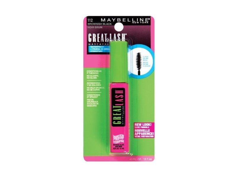 ee33c705126 Maybelline Great Lash Waterproof Mascara, 112 Brownish Black, 0.43 fl oz.  Loading zoom