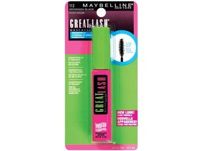 maybelline great lash waterproof mascara 112 brownish black fl oz ingredients and reviews. Black Bedroom Furniture Sets. Home Design Ideas