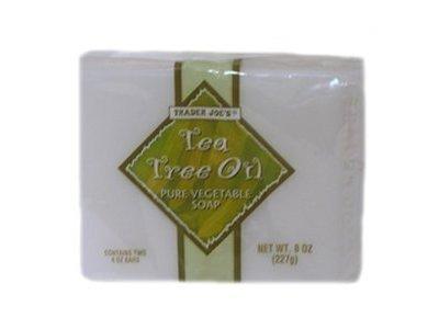 Tea Tree Oil Pure Vegetable Soap, 4 oz