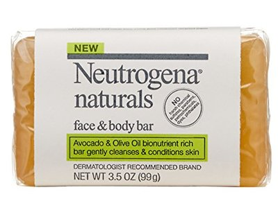 Neutrogena Naturals Face and Body Bar, 3.5 Ounce Bar - Image 3