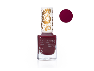 Pacifica 7 Free Nail Color, Red Red Wine