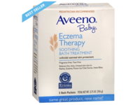 Aveeno Baby Eczema Therapy Soothing Baby Bath Treatment, 5 Count, 3.75oz - Image 2
