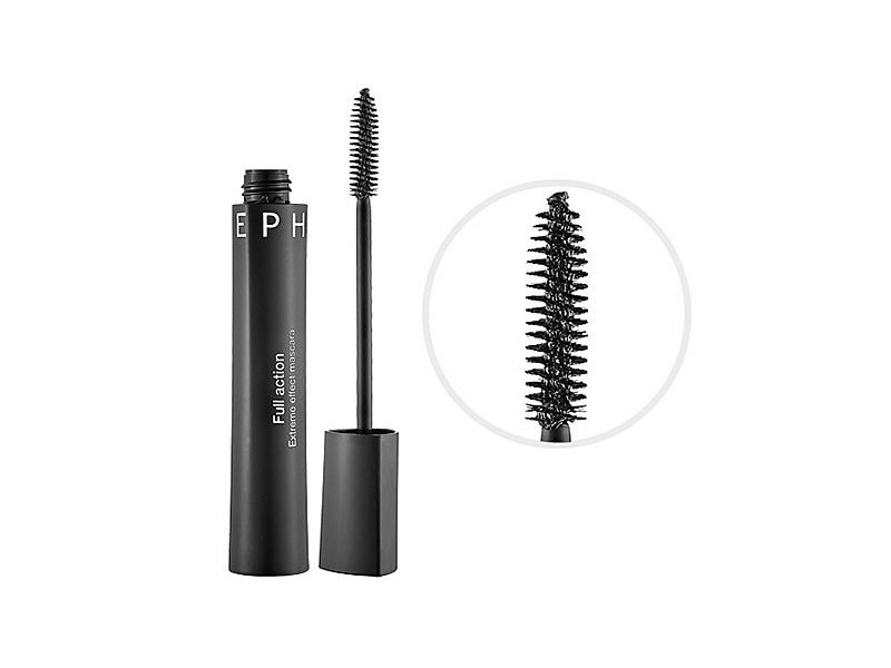 Sephora Collection Full Action Waterproof Extreme Effect Mascara, Black, 0.47 oz