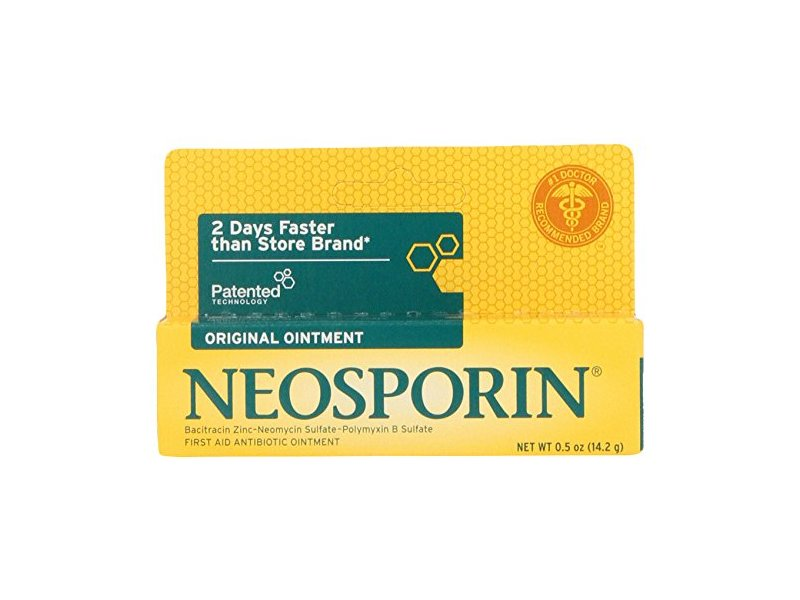 Neosporin First Aid Antibiotic Ointment, Johnson & Johnson