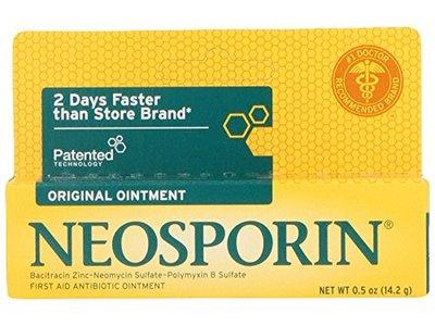 Neosporin First Aid Antibiotic Ointment, Johnson & Johnson - Image 1
