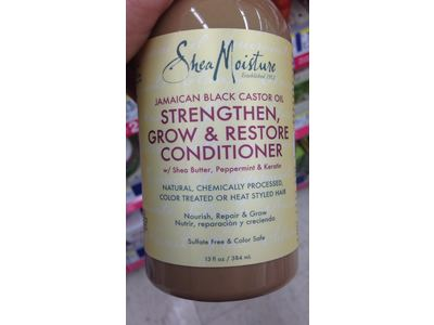 SheaMoisture Jamaican Black Castor Oil Grow & Restore Rinse Out Conditioner 13oz - Image 6
