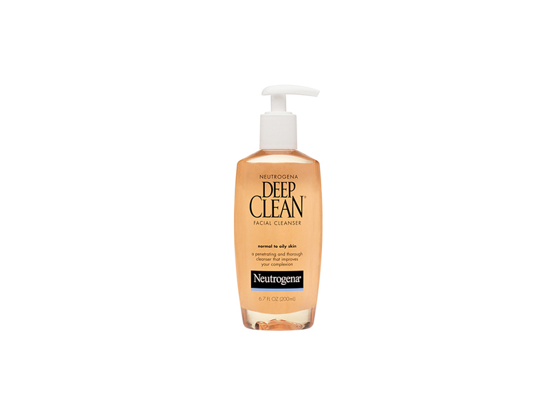 Neutrogena Deep Clean Facial Cleanser, Johnson & Johnson