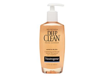 Neutrogena Deep Clean Facial Cleanser, Johnson & Johnson - Image 1