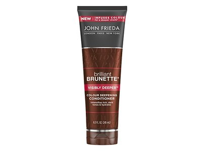 John Frieda brilliant Brunette® Visibly Deeper™ Colour Deepening Conditioner, 8.3 Fluid Ounce