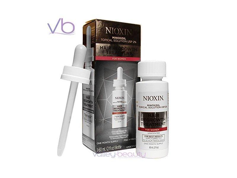 Nioxin Minoxidil Hair Regrowth Treatment for 2% Women, 2 Ounce