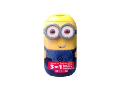 Despicable Me 3-in-1 Bodywash Shampoo & Conditioner