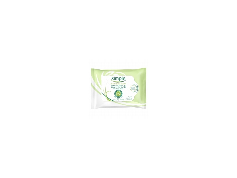 Simple Skincare Eye Make-up Remover Pads, Unilever