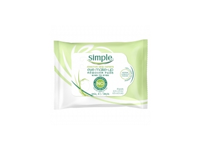 Simple Skincare Eye Make-up Remover Pads, Unilever - Image 1