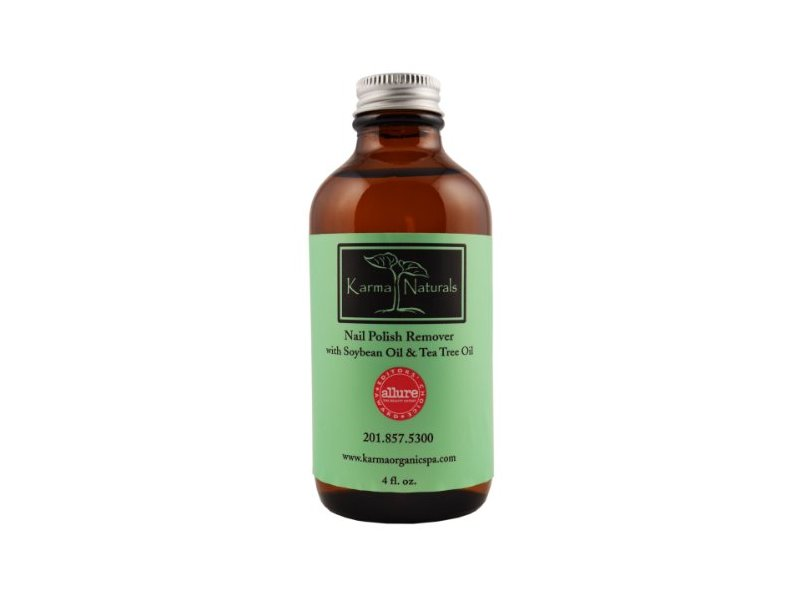 Karma Naturals Nail Polish Remover with Soybean Oil & Tea Tree Oil ...