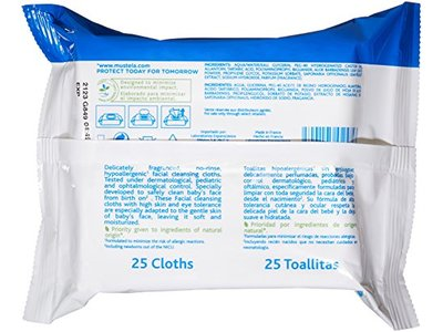 Mustela Facial Cleansing Cloths - Image 4
