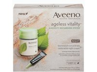 Aveeno ageless vitality elasticity recharging system night-restorative night /biomineral concentrate - Image 2