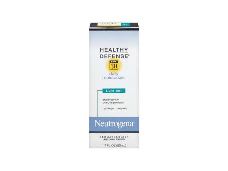 Neutrogena Defense Daily Moisturizer With Sunscreen SPF 30 - Light Tint, Johnson & Johnson