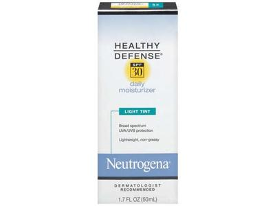Neutrogena Defense Daily Moisturizer With Sunscreen SPF 30 - Light Tint, Johnson & Johnson - Image 1