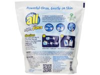 All Free Clear Mighty Pacs Laundry Detergent with Stainlifters, 72 Count - Image 3