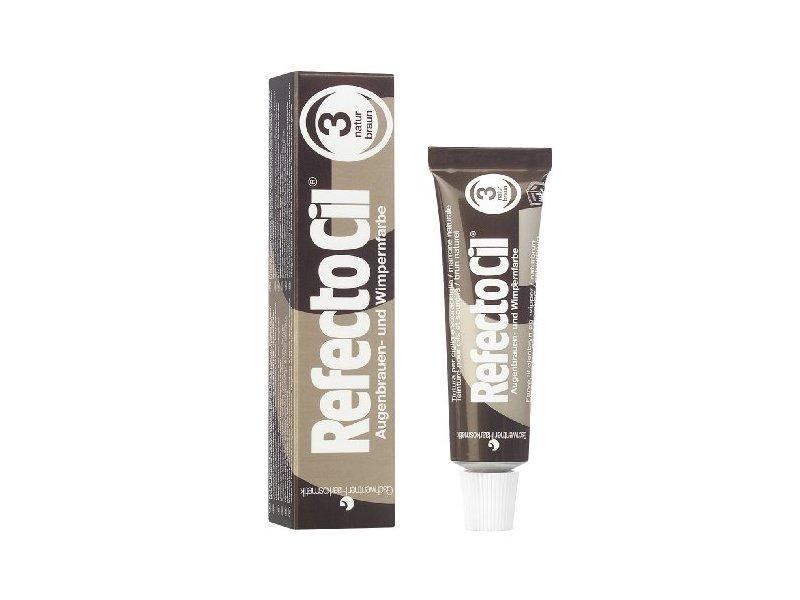 RefectoCil Cream Hair Dye, Natural Brown, .5 oz