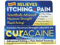 Curacaine Rapid Acting Topical Analgesic Skin Care Cream, 1 Ounce - Image 3