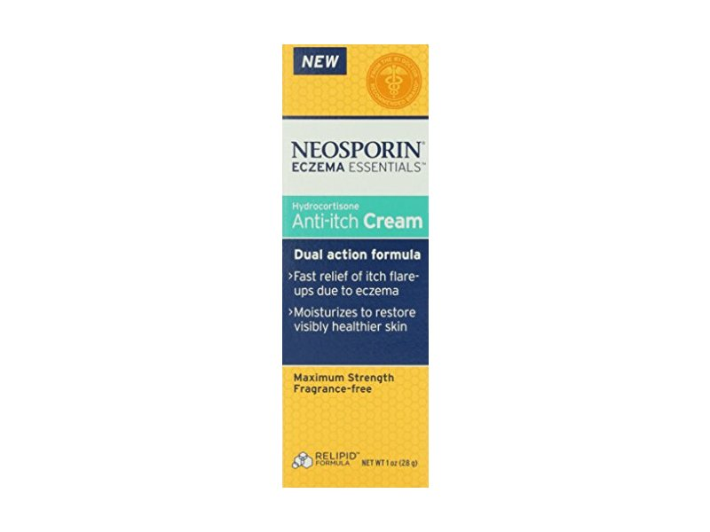 Neosporin Essentials Eczema Hydrocortisone Anti-Itch Cream ...