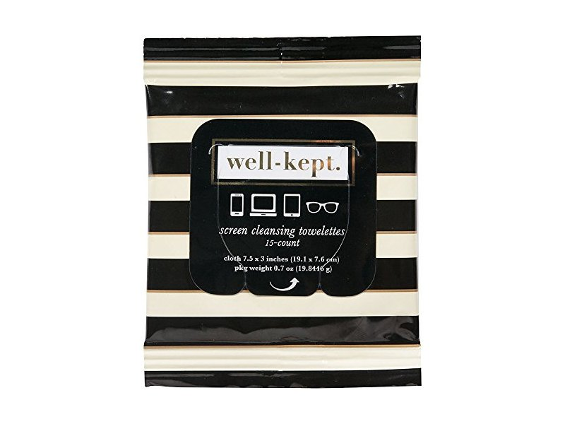 Well-Kept Screen Cleansing Tech Wipes, 15 count