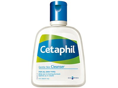 Cetaphil Gentle Skin Cleanser, 8.0 fl oz (Pack of 3) - Image 1