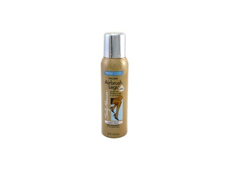 Sally Hansen Airbrush Legs Spray-On, Light Glow 4.4 oz (6 Pack)