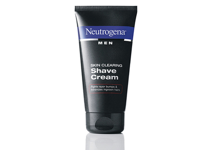 Neutrogena Men Skin Clearing Shave Cream, Johnson & Johnson - Image 1