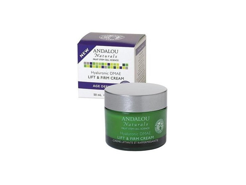 Andalou Naturals Hyaluronic DMAE Lift and Firm Cream, 1.7 fl oz, (Multi-Pack)