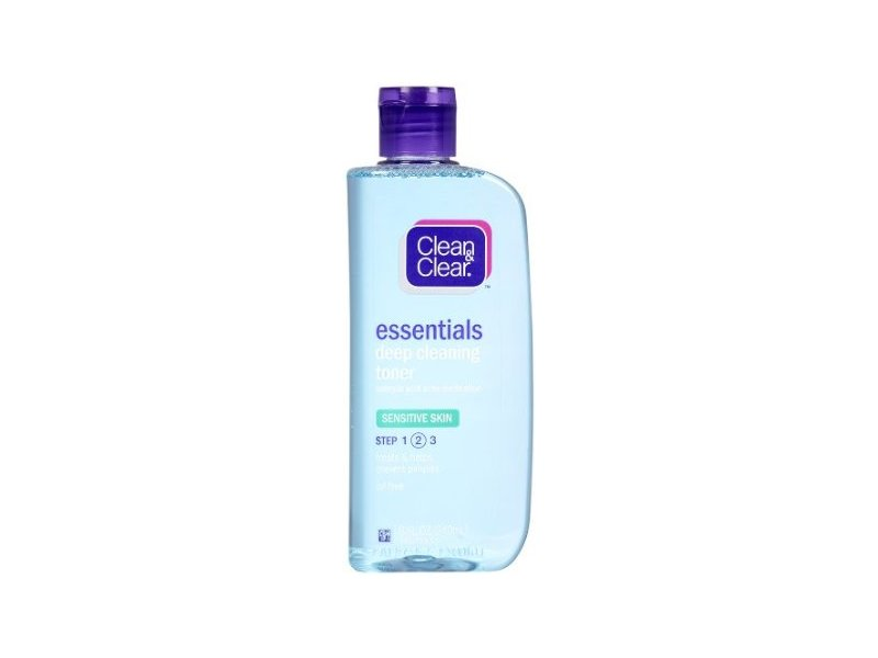 Clean & Clear Essentials Deep Cleaning Toner For Sensitive Skin, Johnson & Johnson