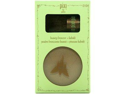 Pixi Beauty Bronzer + Kabuki - Subtly Suntouched - 0.36 oz