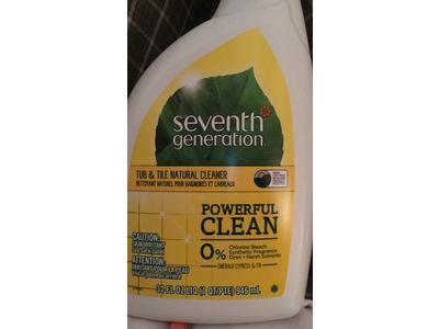 Seventh Generation Tub & Tile Natural Cleaner, Emerald Cypress & Fir, 32 fl oz (Pack of 8) - Image 3