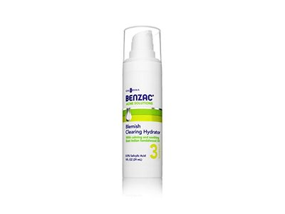 Benzac Blemish Clearing Hydrator, 1 Ounce - Image 1