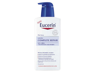 Eucerin Complete Repair Locion, 10% Urea, 400 mL - Nuevo - Image 1
