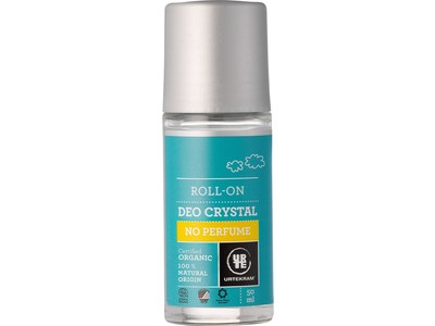 Urtekram No Perfume Deo Crystal Roll-On Organic, 50 mL