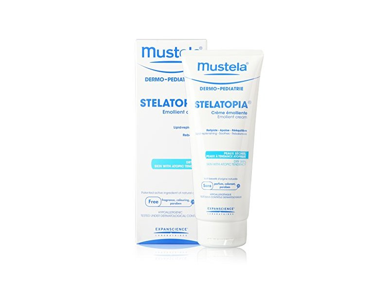 Mustela Stelatopia Moisturizing Cream for Dry & Eczema Prone Skin - Fragrance Free - 6.7 oz